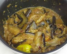 Surinaams eten!: Boulanger masala: Surinaams recept van hete aubergine met masala