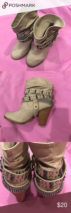 Boots Buckle Boots, never worn Buckle Shoes Heeled Boots