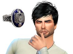 http://simsworkshop.net/resources/damon-and-elena-rings-by-the-vampire-diaries.169/