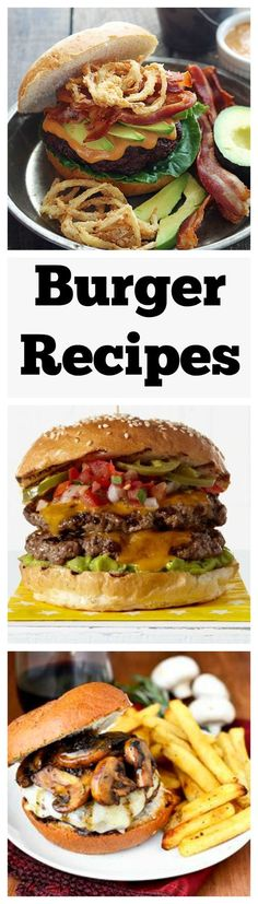 What's better than a burger fresh off the grill? Get creative this summer with our best hamburger, veggie burger, and cheeseburger recipes.: