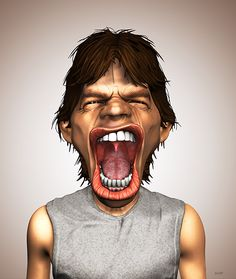 Mick Jagger by hklement