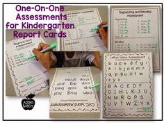 Kindergarten Report Card Assessments