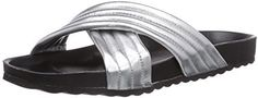 Pin for Later: 15 flache Sandalen, die cooler sind als jeder Flip Flop  Pieces Lederslide (17 €)