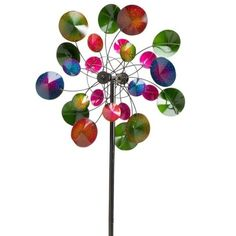 Our wind spinners, whirligigs and garden spinners bring incredible movement to your outdoor d�cor. Shop metal wind spinners, copper wind spinners and more. Beton Design, Diy Design, Design Ideas, Metal Garden Art, Metal Art, Mobiles, Garden Wind Spinners, Yard Sculptures, Target