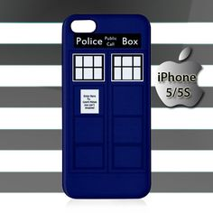 Doctor Who Tardis iPhone 5 5s Case Cover Hardshell