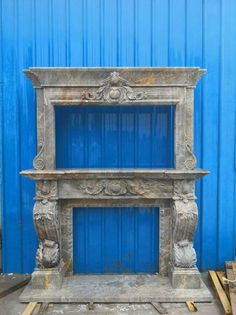 MONUMENTAL CARVED ESTATE MARBLE DESIGNER FIREPLACE MANTEL - MFP12 #Unbranded #Victorian Marble Fireplace Mantel, Fireplace Logs, Marble Fireplaces, Tv Wall Mount Bracket, Wall Mounted Tv, Lg Flat Screen Tv, Mantel Mount, Tabletop Tv Stand, Home Improvement