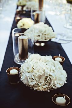 Tuscan Villa Wedding from Jacqueline Photography – Destination Wedding Welcome Bags Blue Wedding Centerpieces, Wedding Table Decorations, Decoration Table, Centerpiece Ideas, Black And Gold Centerpieces, Bowl Centerpieces, Wedding Decor, White Centerpiece, Centerpiece Flowers