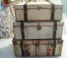 The Altered Muse Studio: Free Steamer Trunk Template