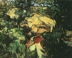 Van Gogh, Ingang van de Steengroeve. Mooi!