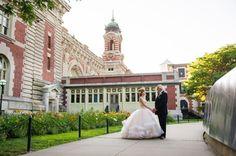 Ellis Island Weddings #nycwedding #njwedding