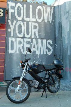 Moped Photo Gallery - 2007 Tomos Targa LX, Follow your dreams