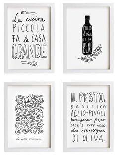 Anek: Hand Lettered Kitchen Art — Store Profile   The Kitchn