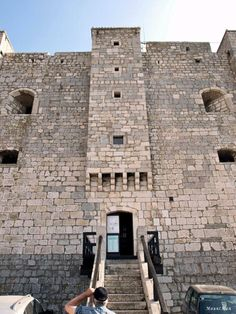 Nehaj Fortress near Senj, Croatia | Fortress built 1000 yrs. ago as defense from Venitians who were never able to conquer it. That might have been due to very fierce winds which kept their ships from landing.