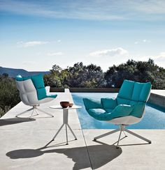 Dressed up outdoor furniture
