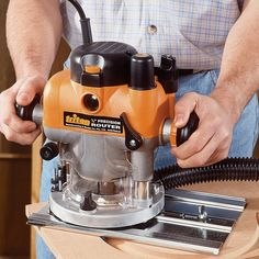 Triton 3-1/4 HP Dual-Mode Plunge Router - Routers - Power Tools