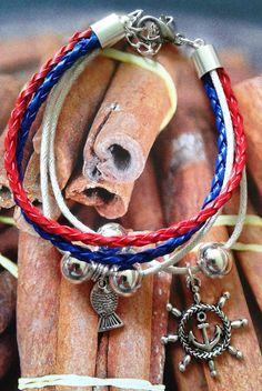 Bransoletki z rzemyków oraz w stylu Pandora/ Thong and Pandora style bracelets  from my blog with handmade jewellery:  http://mttj.wordpress.com/   #jewellery #handmade #bracelet #earrings #pendants