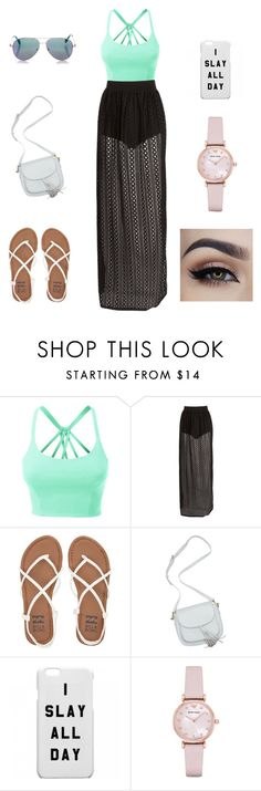 """my only friend was the man and the moon"" by jaydenloveyourstyle04 on Polyvore featuring LE3NO, Billabong, Emporio Armani and Cutler and Gross"