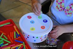 Mess For Less: 3 Ideas for Straw Games and Crafts