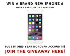 https://gleam.io/TZuTa-7VF4NQ?l=http%3A%2F%2Fwww.makeuseof.com%2Ftag%2Fwhy-nordvpn-should-be-your-vpn-solution-15-1-year-accounts-iphone-6-giveaway%2F   <----- Hurry!  Ends 4/11 --- Share this image for an additional entry