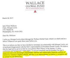 En la carta épica, Fondo de Inversión Dispara bufete de abogados para permitir el Trump cleptocracia