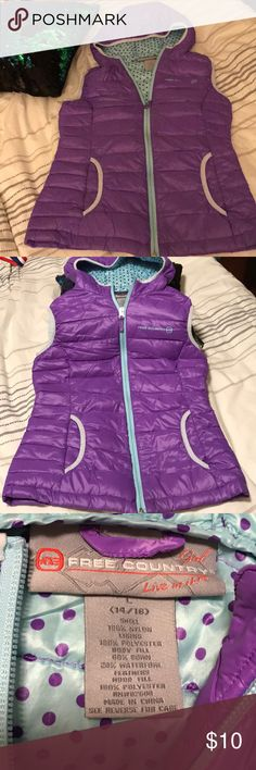 Free country girl's vest Free country girl's vest. Great condition Free Country Jackets & Coats Vests