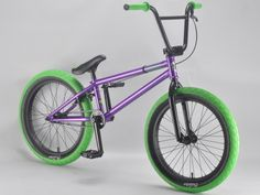 madmain charged purple 20 inch BMX bikes