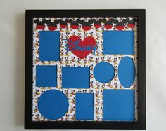Disney Themed Vacation Picture Frame Collage Photo Frame Mickey Mouse Ears heart Disney World Disneyland Multi Photo Home Decor Gift Disney Frames, Disney Collage, Collage Picture Frames, Collage Photo, Disney Scrapbook, Scrapbooking, Multi Photo, Mickey Mouse Ears, Disney Diy