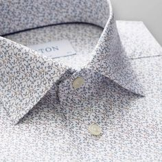 Printed Shirts for Men Formal Men Outfit, Men Formal, Formal Suits, Designer Suits For Men, Wedding Shirts, Classic Elegance, Collar And Cuff, Mens Suits, Printed Shirts