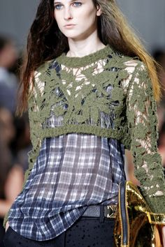 #Trend: #1990s, 3.1 Phillip Lim.    View the full Spring Fashion 2013 Guide here: http://www.fashionmagazine.com/blogs/spring-fashion-2013/
