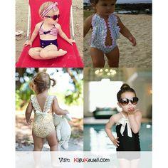 What a Kawaii~ baby swimsuits. <3 by Vlechten met Daan~ Follow Kigu Kawaii for more cute stuff! #kigukawaii #cute #kawaii #swimsuits #baby #summer #cool #awesome #pretty #sexy #beach #summer #fashion #style #design