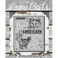 Love Cats 2 BDN22 - Isabelle Vautier broderie