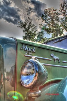 Set of 3 HDR Mack Truck Collection Photos by CEfotografia on Etsy