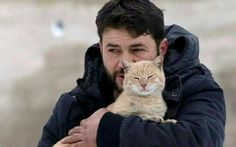 """<p>""""The Cat Man of Aleppo"""" is taking care of hundreds of abandoned and stray cats of Syria. </p>"""