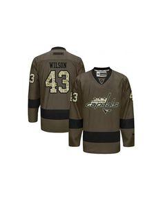 TomWilson  Jersey  WashingtonCapital 43  Jersey  GreenCamoTomWilson  jersey  Top off a6388dcbf