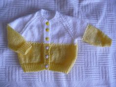 Free Baby Blanket Patterns, Baby Boy Knitting Patterns, Knitting For Kids, Knitting Designs, Sweater Patterns, Baby Afghan Crochet, Baby Afghans, Knitted Baby, Baby Cardigan
