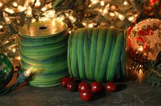 Hey, I found this really awesome Etsy listing at https://www.etsy.com/listing/170443234/festive-green-striped-ombre-grosgrain