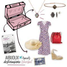 AIBIJOUX viagga verso #INSTANBUL con i gioielli #kurshuni! #AIBIJOUXtravels #Kurshuni #Constantinopolis #Instanbul #fashionjewelry