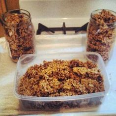 My Original Recipe for Gluten Free Pumpkin Spice Granola