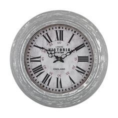 With its unassuming, aged style, this aged grey wall clock is not only a household essential but will stand the test of time too https://joyfulhomegoods.com/collections/wall-decor/products/sterling-industries-victoria-station-clock-171-002?variant=20311313479 Free gift for our Pinterest fans! $5 gift card, use code PIN5 to redeem!