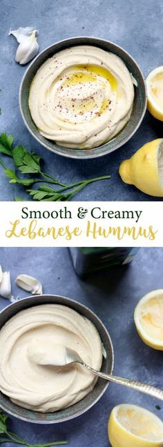 Tips and a recipe for making a smooth and creamy traditional hummus