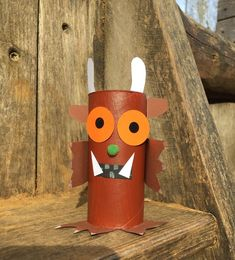 Make Grüffelo out of a toilet paper roll in the kindergarten - Diy and Crafts Mix Preschool Kindergarten, Preschool Crafts, Fun Crafts, Crafts For Kids, Gruffalo Activities, Book Activities, Toddler Activities, Toilet Roll Art, Toilet Paper Roll Crafts