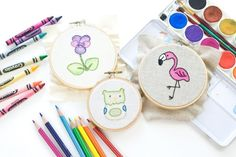 Add Some Color to Your Embroidery!
