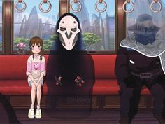 Overwatch X spirited away crossover