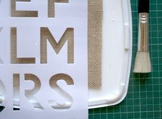 Mr & Mrs Hessian Chair Bunting   Tutorial