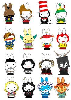 Generation Miffy the Men by ~likimonster on deviantART