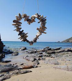 Driftwood Heart via Pinterest