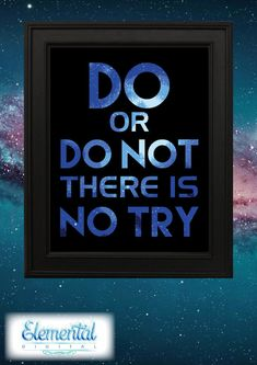 INSTANT DOWNLOAD Printable Do or Do Not There by ElementalDigital