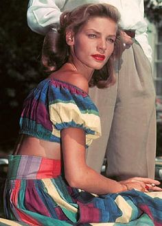 The beautiful Lauren Bacall                                                                                                                                                                                 More