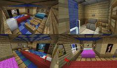 Minecraft Hotel Rooms