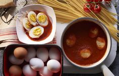 How to Make Spaghetti with Eggs #ScratchCookbook